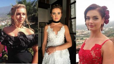 Холостяк 7: в каких платьях участницы блистали на церемонии роз в Испании?