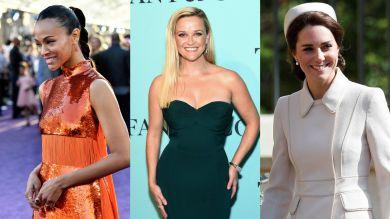 Лучшие beauty-образы недели: Кейт Миддлтон, Зои Салдана, Риз Уизерспун и другие