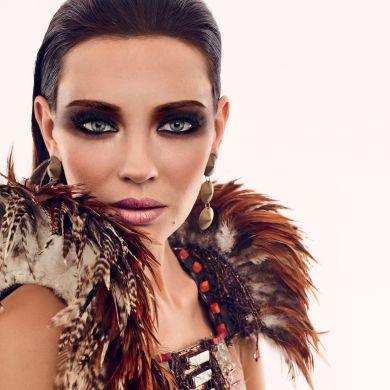 Бронзовая коллекция макияжа Make up Factory Spirit of Ethno