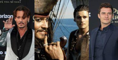 «Пираты Карибского моря» тогда и сейчас: Джонни Депп и Орландо Блум