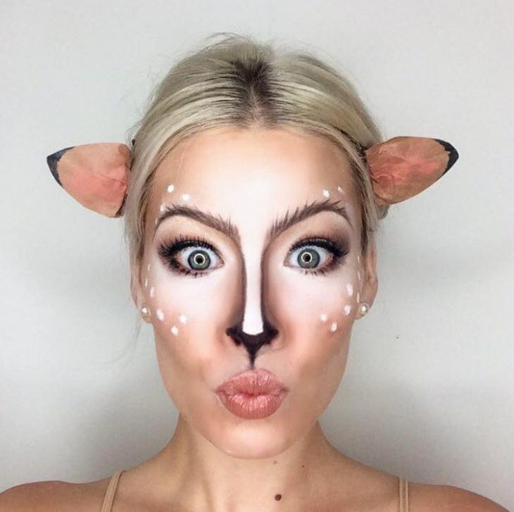 Хэллоуин 2017 макияж