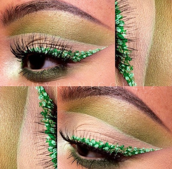 Какой макияж глаз стал новым трендом в Instagram (ФОТО)