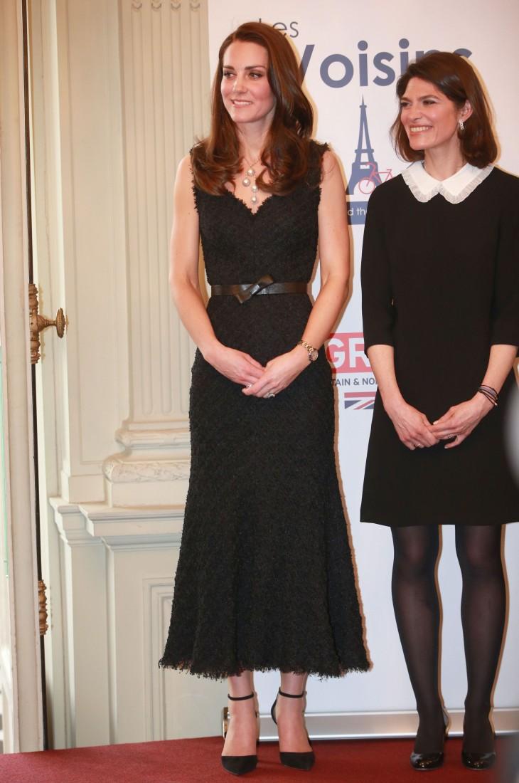 Парижский гардероб Кейт Миддлтон (ФОТО)