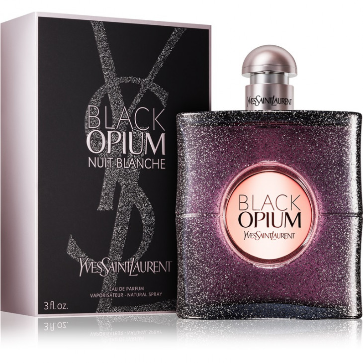 Аромат с нотой кофе Yves saint Laurent Black Opium Nuit Blanche