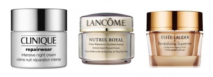 Питательный ночной крем Estee Lauder, Lancome, Clinique