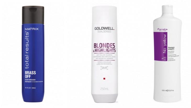 Уход за блондом: шампуни нейтрализующие желтизну