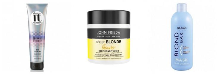 Уход за блондом: маски против желтизны