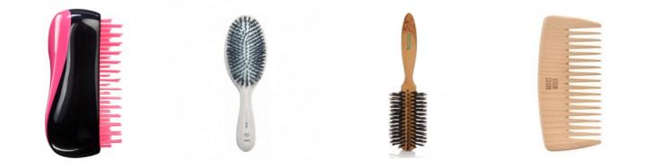 Почему электризуются волосы: правильная рмсчёска