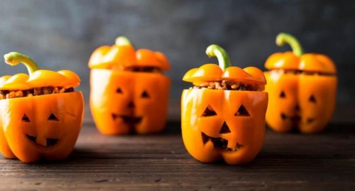 Рецепты на Хэллоуин: фаршированные перцы