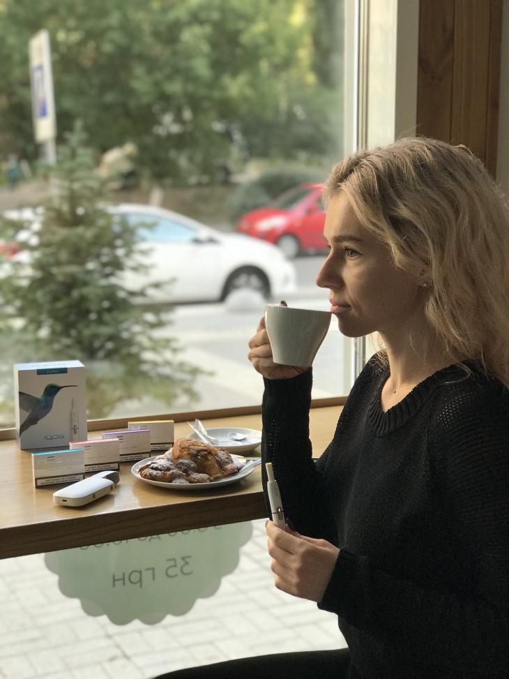 IQOS можно курить в кафе