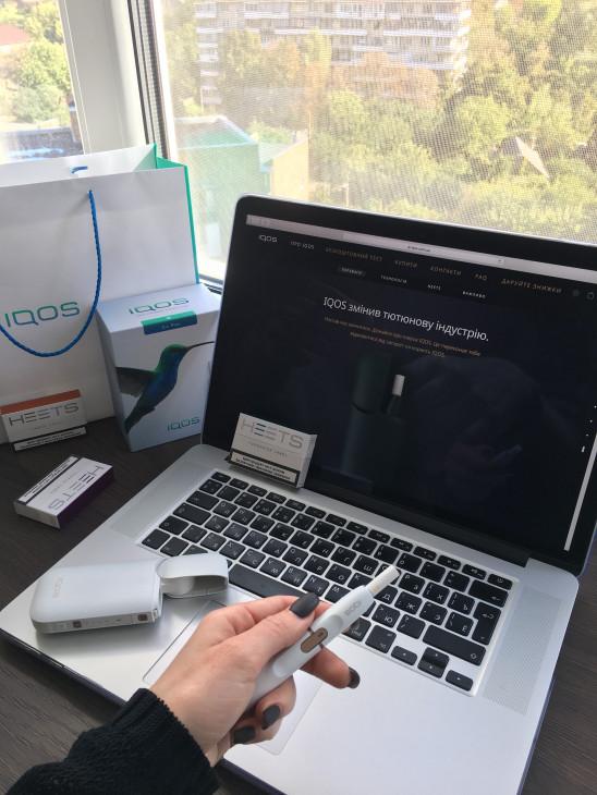 IQOS-девайс для минимизации вреда от курения