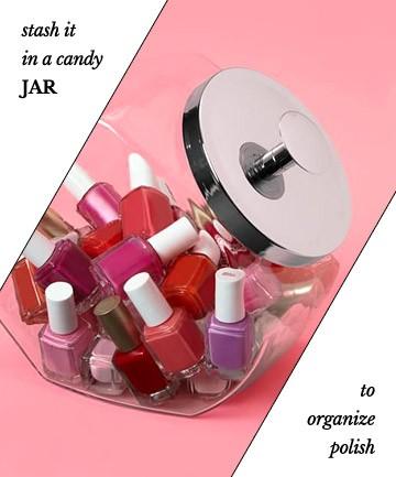 Креативные идеи как хранить лаки для ногтей