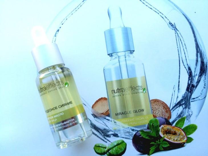 масло для лица «Чудесное сияние» из линейки Avon Nutra Effects отзыв фото
