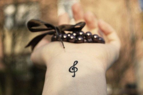 Лучшие микро-татуировки для девушек