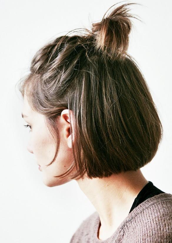 Грязные волосы прическа