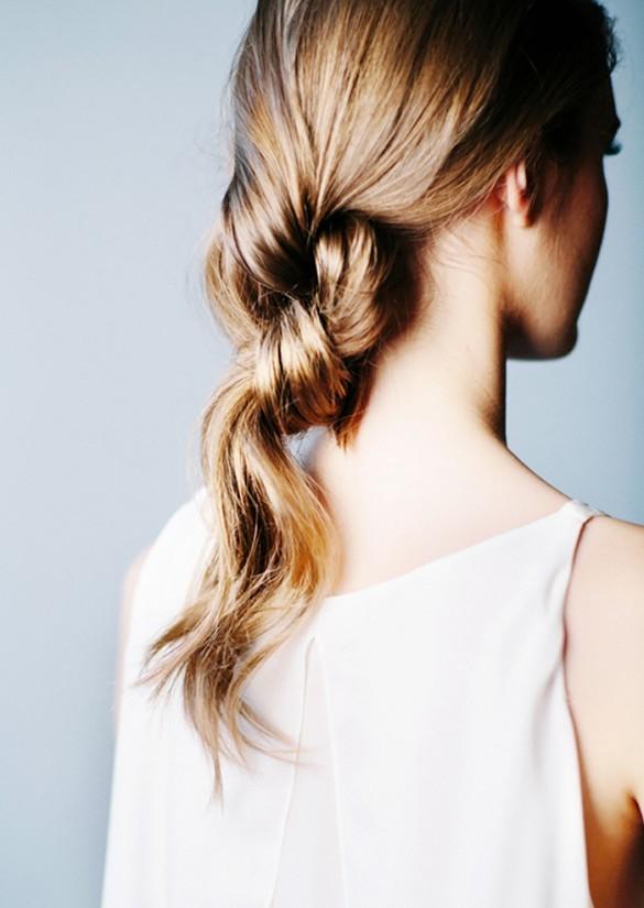 Прически, которые выглядят лучше на грязных волосах