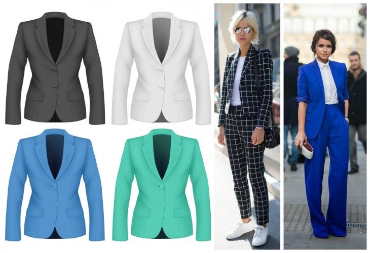 Модные советыЧем отличаются пиджак, жакет и блейзер. Правила ношения в 2019 году