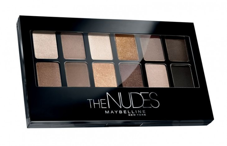 Maybelline представил палетку Nudes, которую уже все хотят