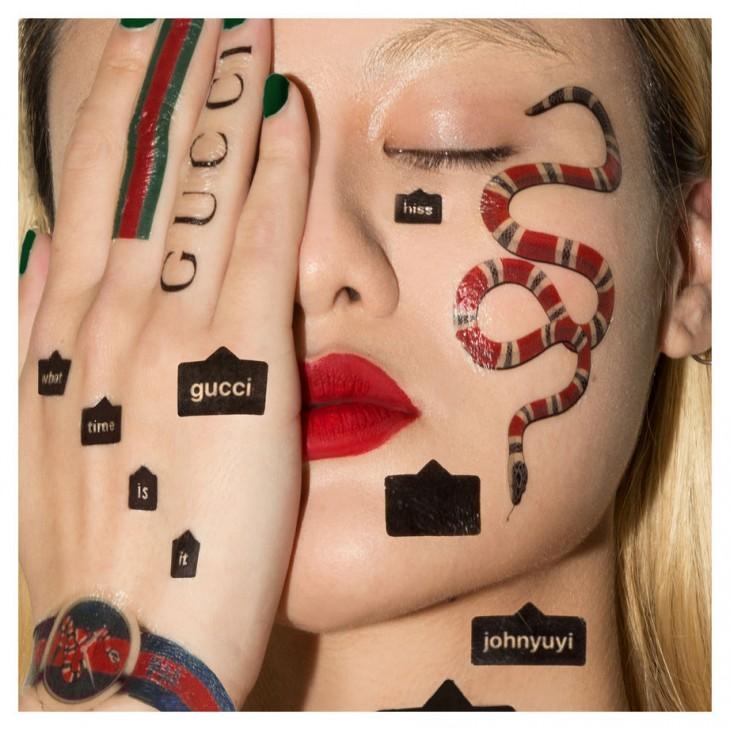 Gucci рекламная кампания в мемах