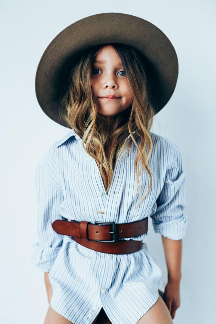 Семилетняя модель взорвала индустрию моды (ФОТО)