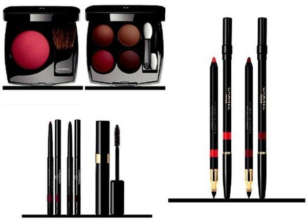 Кристен Стюарт представляет осеннюю коллекцию макияжа Chanel