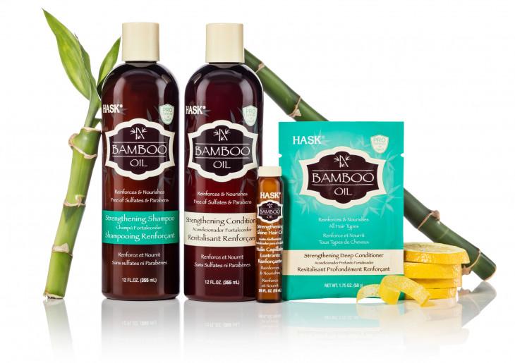 Hask Bamboo Oil уход за волосами
