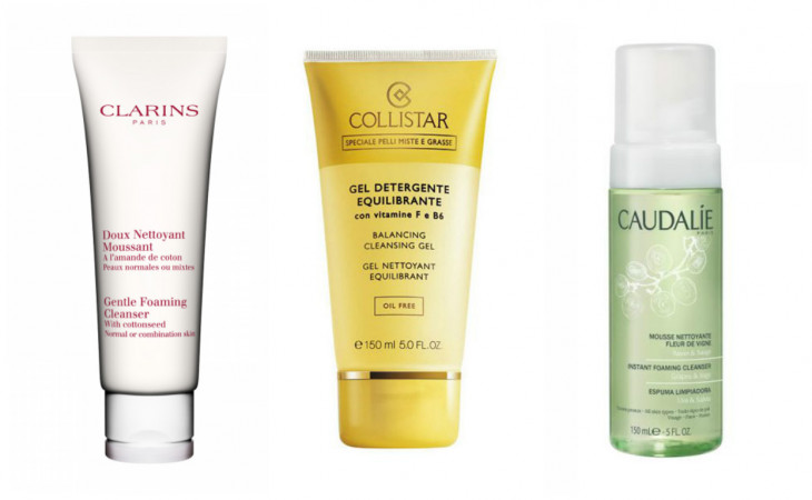 Уход за кожей весной: очищение