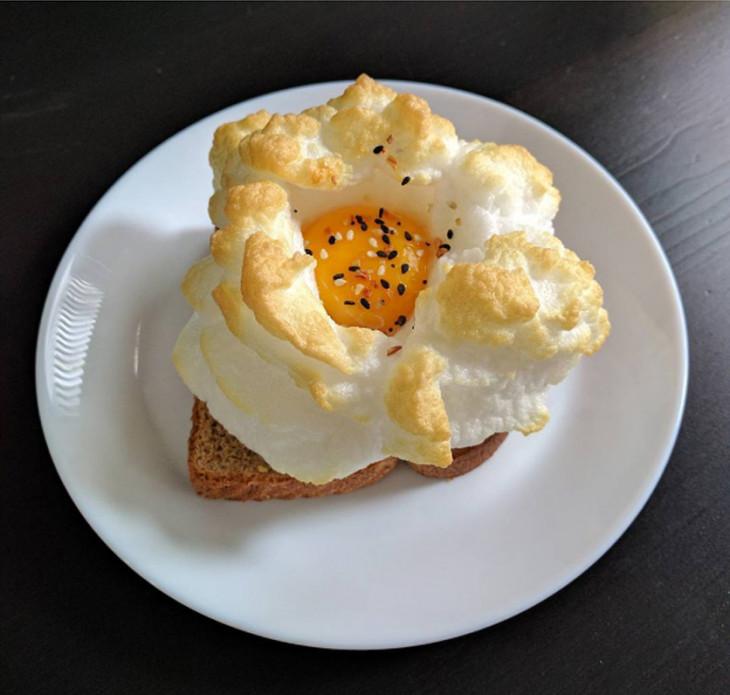 Трендовый завтрак Cloud Eggs