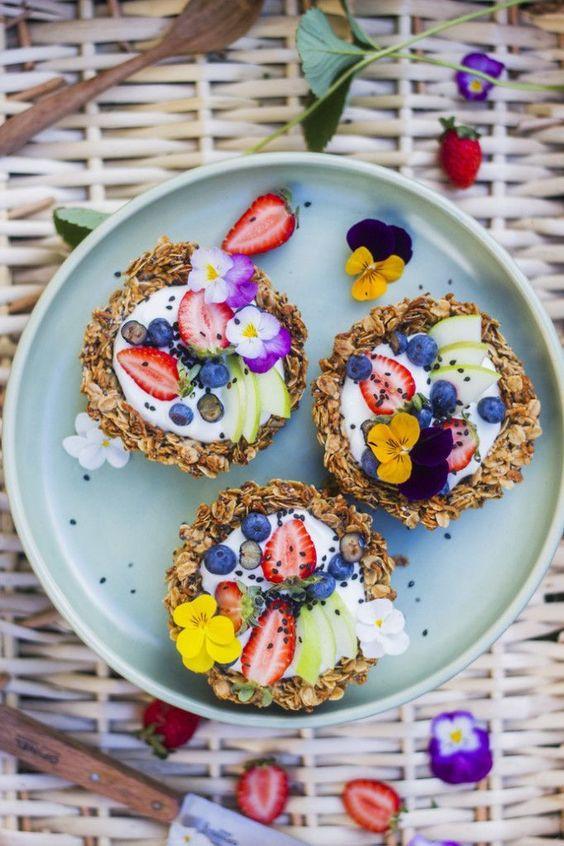 Корзинки из гранолы - трендовый завтрак