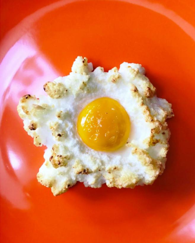 Яйца-облака фото