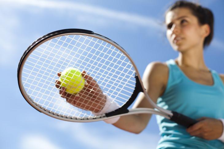 Теннис для фигуры фото