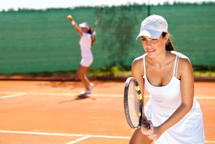 Теннис девушка