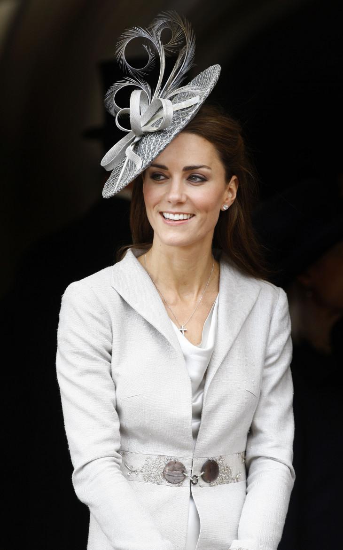 Кейт Миддлтон в красивой шляпке