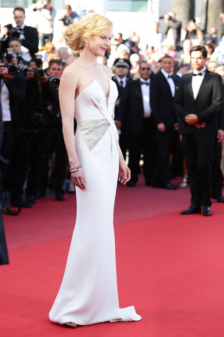 Николь Кидман в открытом платье