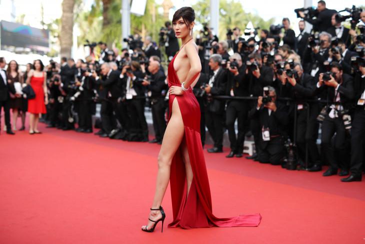 Сексуальные платья на красной дорожке