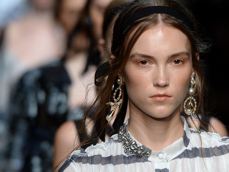 Ленты - модные аксессуары для волос