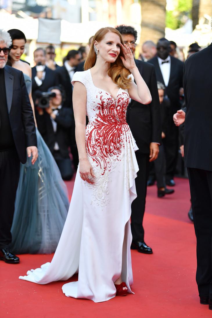 Джессика Честейн Каннский кинофестиваль 2017