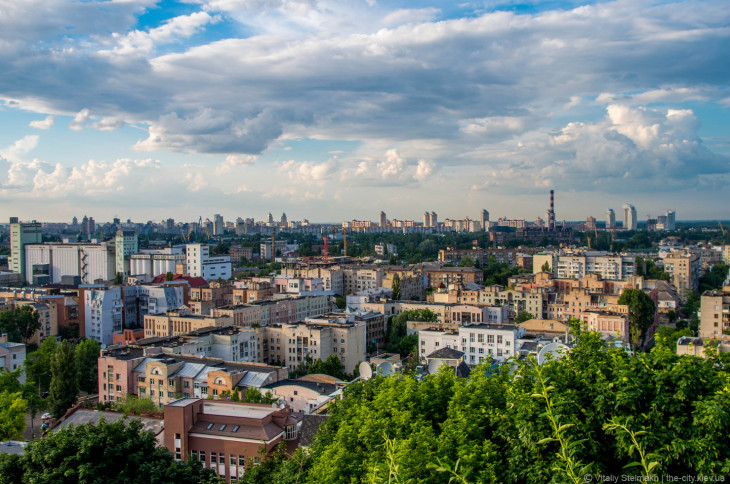 Обзорная площадка на 270 градусов ул Олеговская
