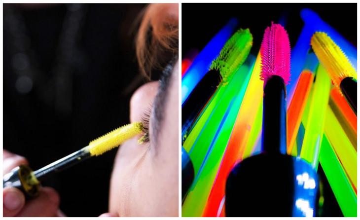 Цветные туши для ресниц In Extreme Dimension Lash Energized от MAC