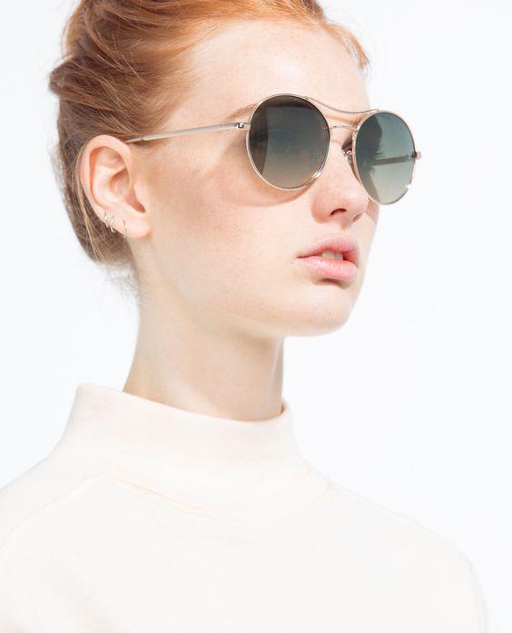 Круглые очки на лето