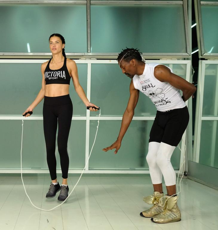 Адриана Лима - какой вид спорта выбирают модели