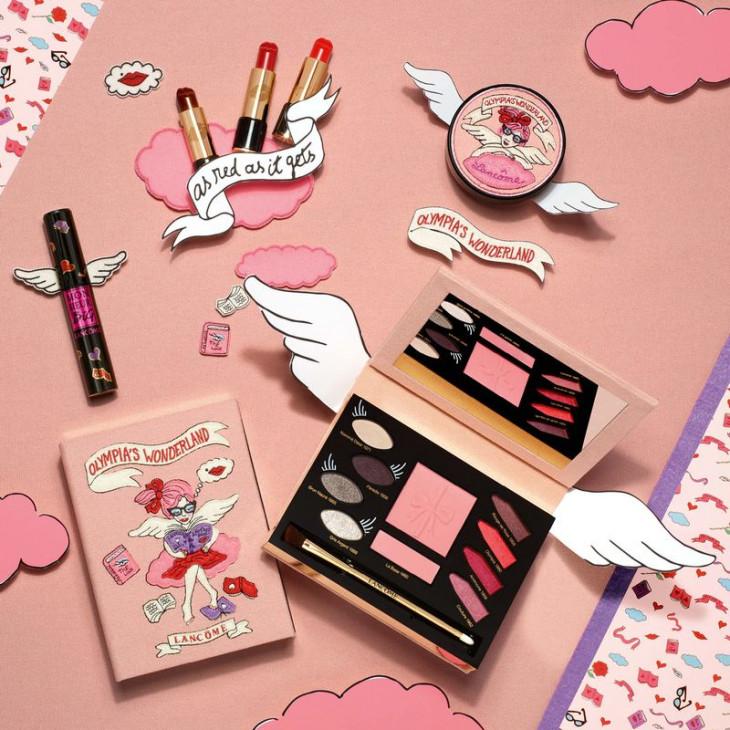 Olympia's Wonderland коллекция макияжа Lancome 2017