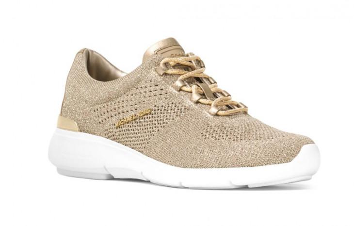 Золотые кроссовки Майкл Корс