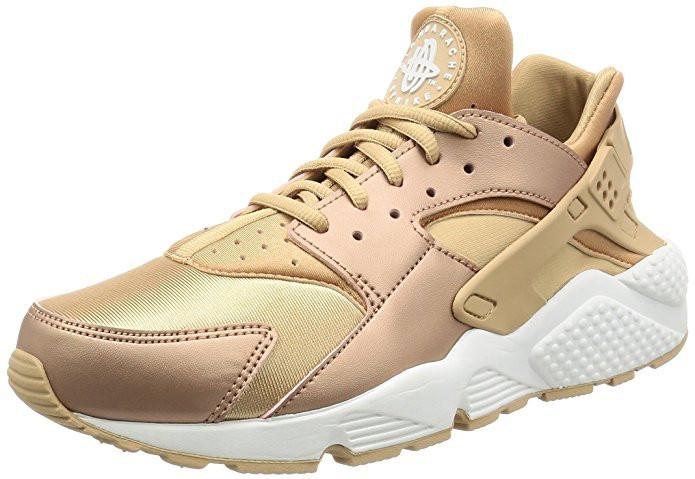 Кроссовки золотого цвета Nike Air Huarache Run Sneakers