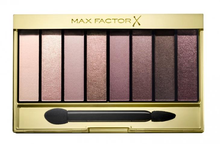 Палетка теней в розовых оттенках Maxfactor Rose Nude