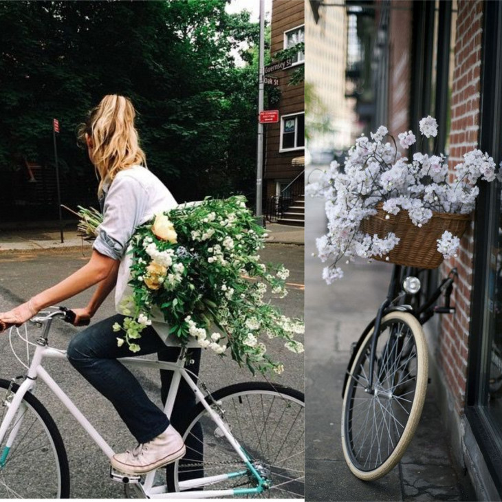 В чем кататься на велосипеде образы с улиц