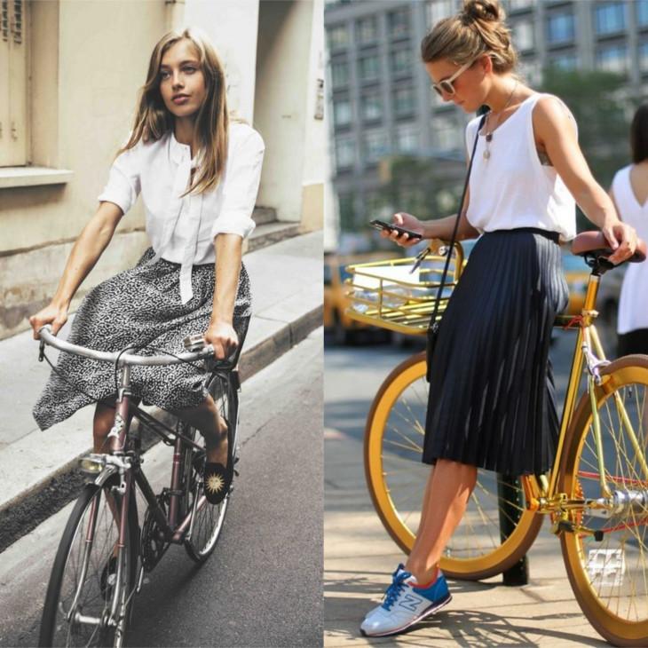 В чем кататься на велосипеде