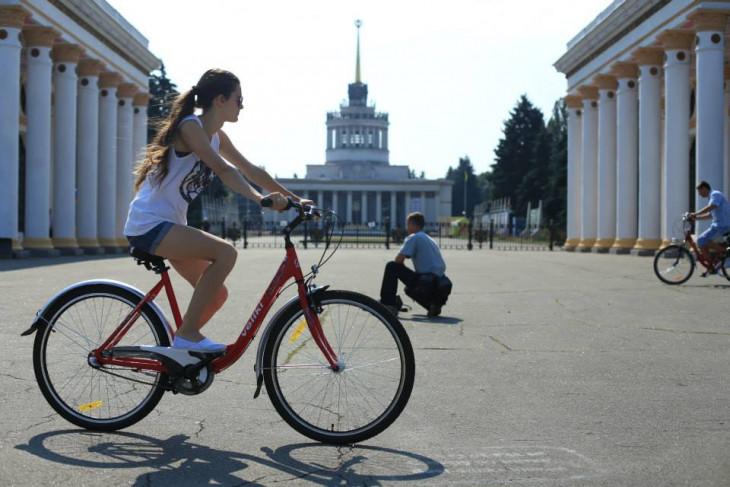ВДНХ на велосипеде