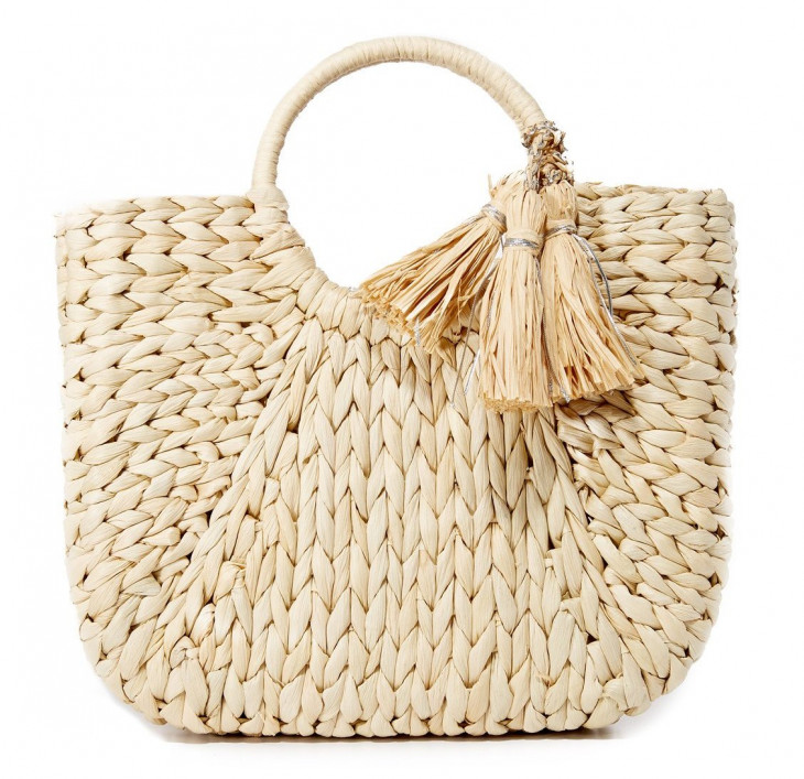 Стильная сумка-корзинка