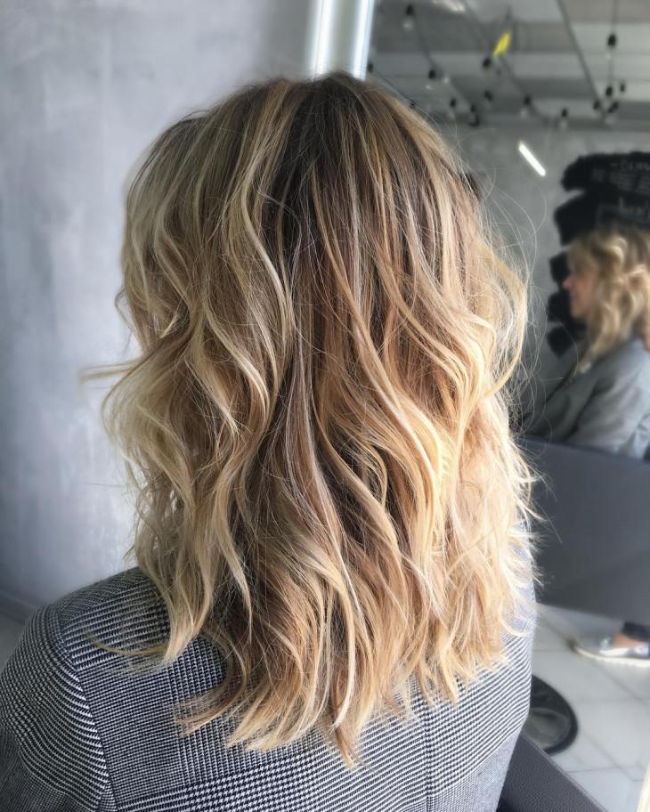 Красивый контуринг волос